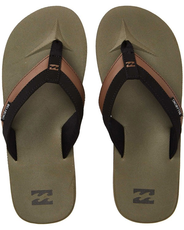 0 All Day Impact Sandals Green MAFTAADI Billabong