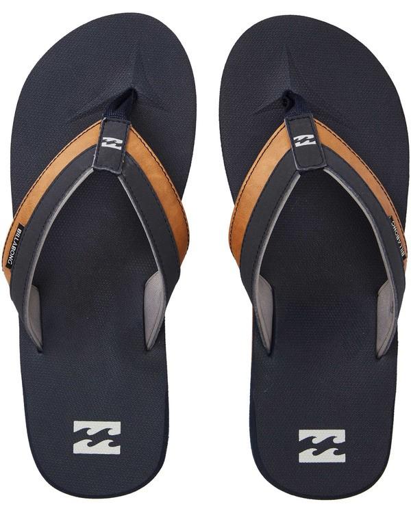 0 All Day Impact Sandals Blue MAFTAADI Billabong