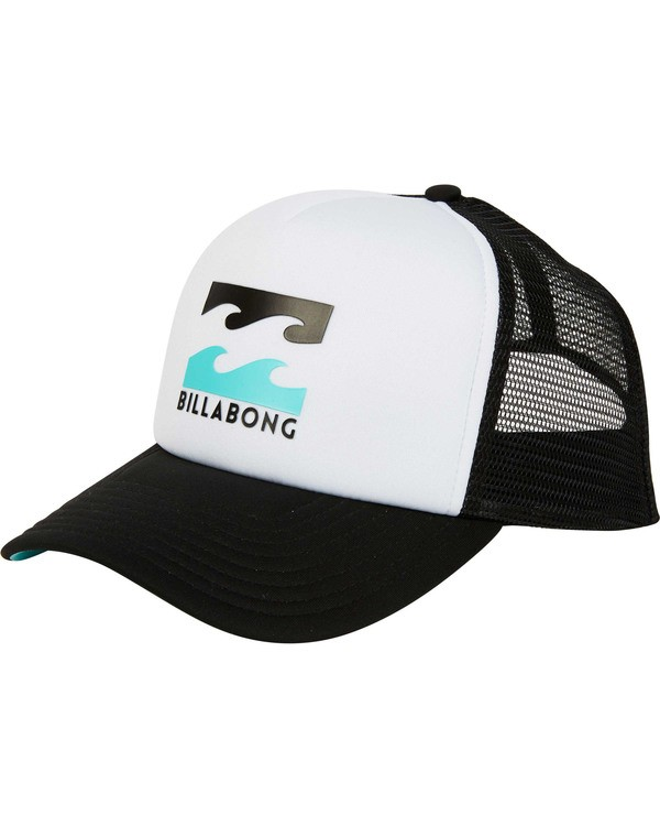 0 Podium Trucker Hat White MAHTGPOD Billabong