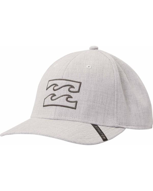 0 All Day Heather Stretch Fit Hat Grey MAHTLADH Billabong