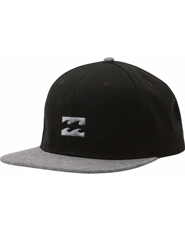 0 All Day Snapback Hat Black MAHTLADS Billabong
