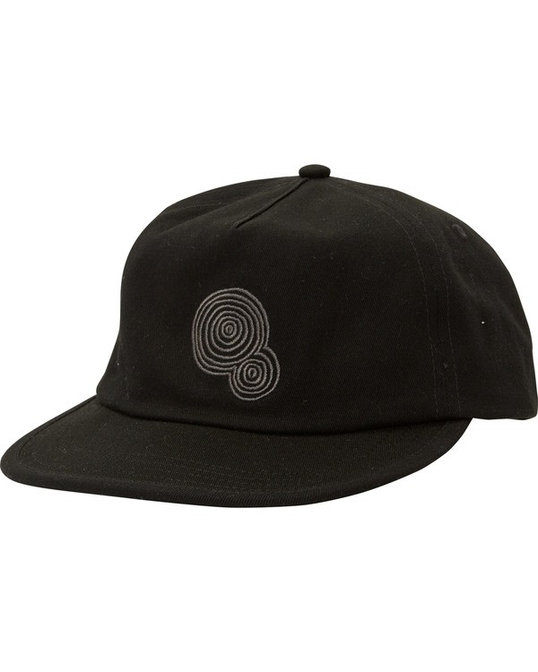 0 Current Hat Black MAHTMCUR Billabong