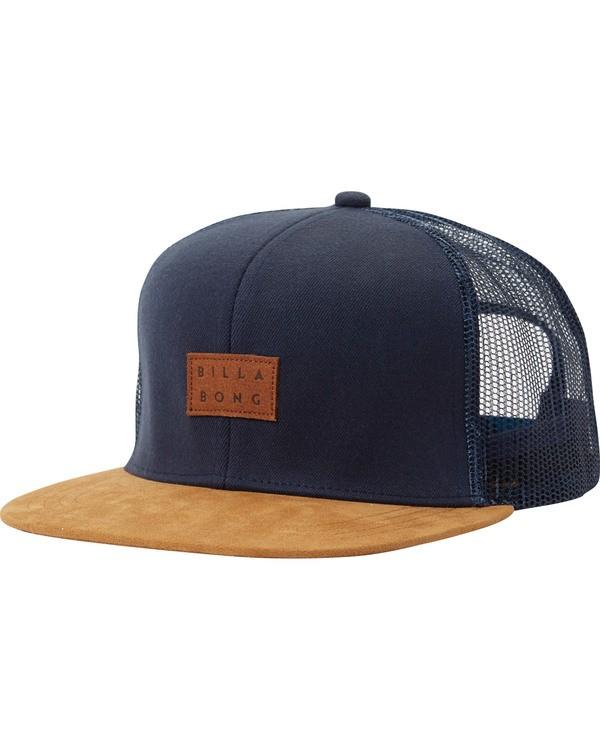 0 Mixed Trucker Hat Blue MAHTMMIX Billabong