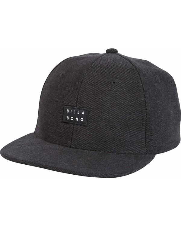 0 Primary Snapback Hat Black MAHTMPRI Billabong