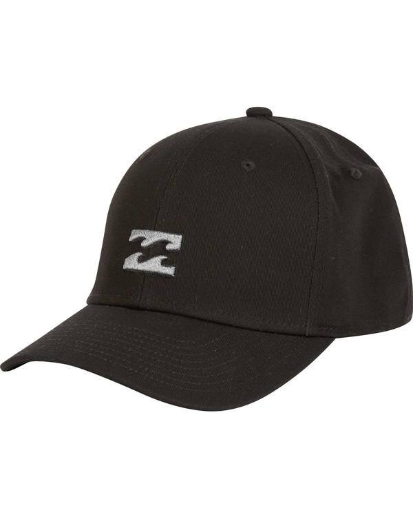 0 All Day Stretch Fit Hat Black MAHWNBAT Billabong