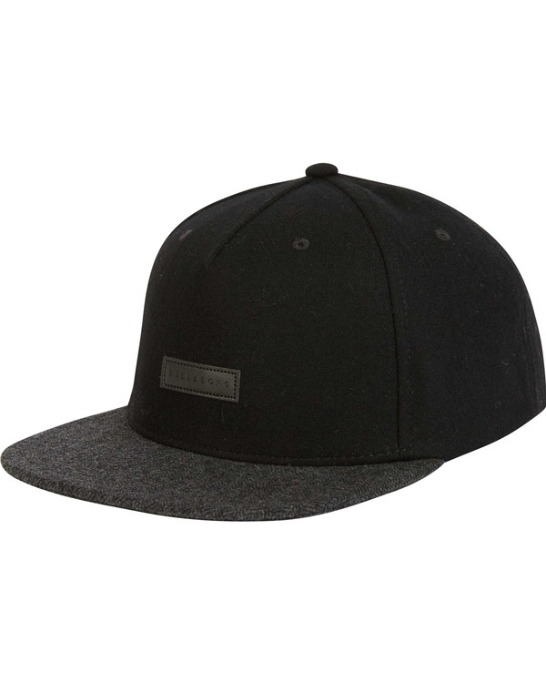 0 OXFORD SNAPBACK Black MAHWNBOX Billabong