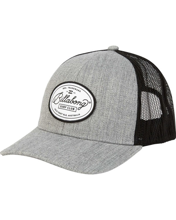 0 Walled Trucker Hat Grey MAHWNBWA Billabong