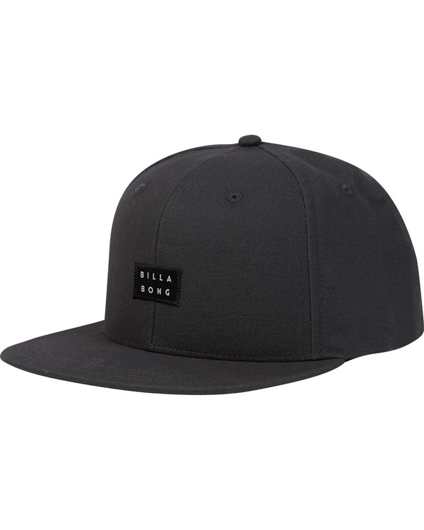 0 Primary Snapback Hat Black MAHWPBPR Billabong