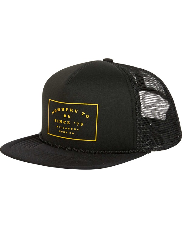 0 Upgrade Trucker Hat Black MAHWPBUP Billabong
