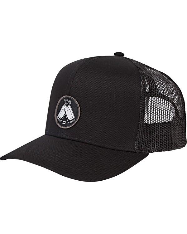 0 Onyaparko Trucker Hat Black MAHWSBON Billabong