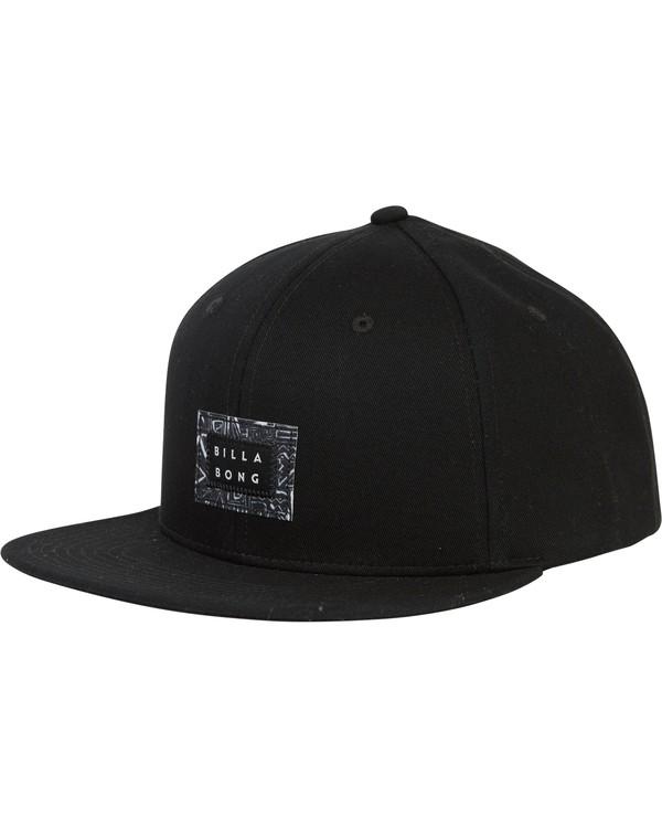 0 Plateau Twill Snap Back Hat Black MAHWSBPL Billabong