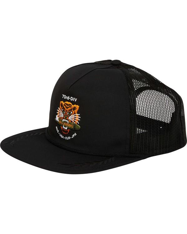 0 Alliance Trucker Hat Black MAHWTBAL Billabong