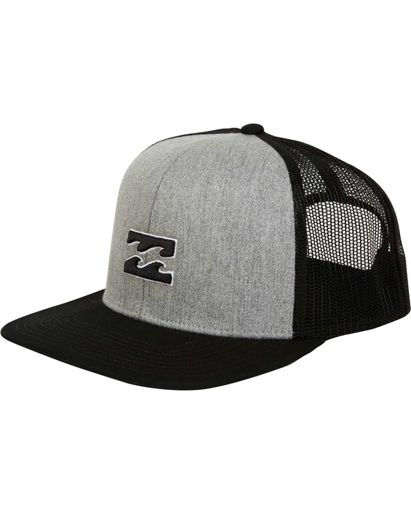 0 All Day Trucker Hat Grey MAHWTBAR Billabong