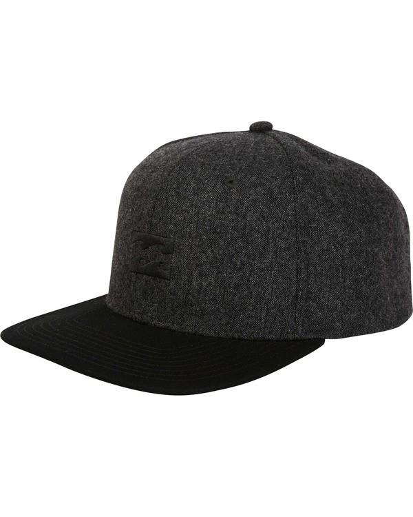 0 All Day Snapback Hat  MAHWTBAS Billabong