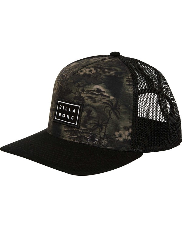 0 Beachcomber Trucker Hat Camo MAHWTBBT Billabong