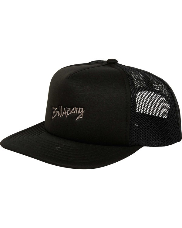 0 Eighty Six Trucker Hat Black MAHWTBEI Billabong