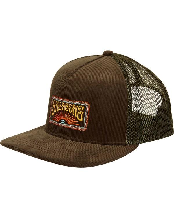 0 Flatwall Trucker Hat Camo MAHWTBFW Billabong