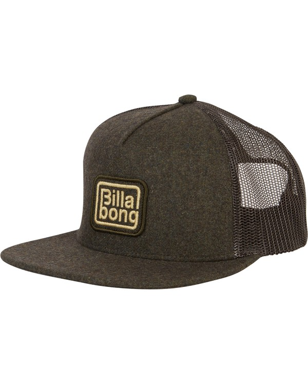 0 Flatwall Trucker Hat  MAHWTBFW Billabong