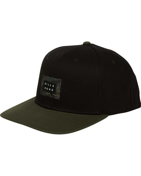 0 Plateau Snapback Hat Black MAHWTBPL Billabong