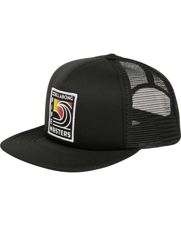 0 Pipe Trucker Hat Black MAHWTBPT Billabong