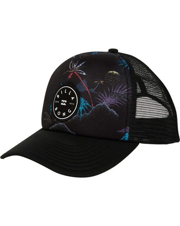 0 Scope Trucker Hat Black MAHWTBSC Billabong