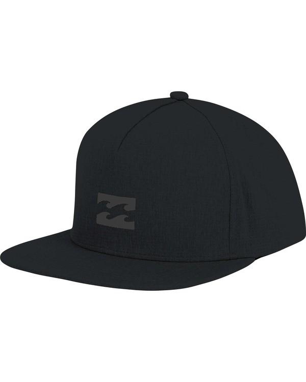 0 Surftrek Snapback Hat Black MAHWTBSU Billabong