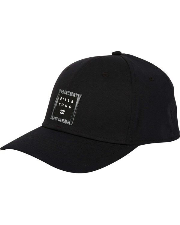 0 Tech Stretch Hat Black MAHWTBTE Billabong