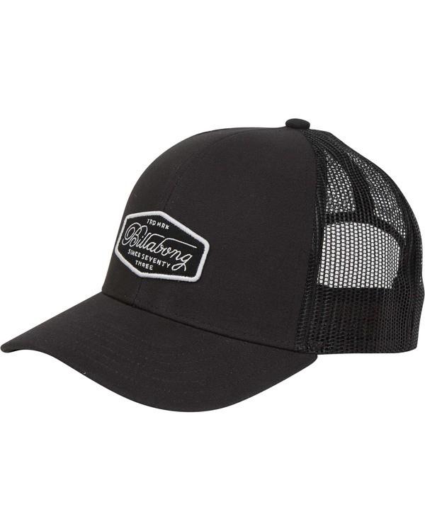 0 Walled Trucker Hat Black MAHWTBWA Billabong