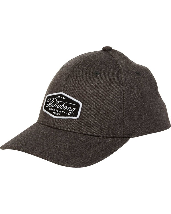 0 Walled Snapback Hat Grey MAHWTBWS Billabong