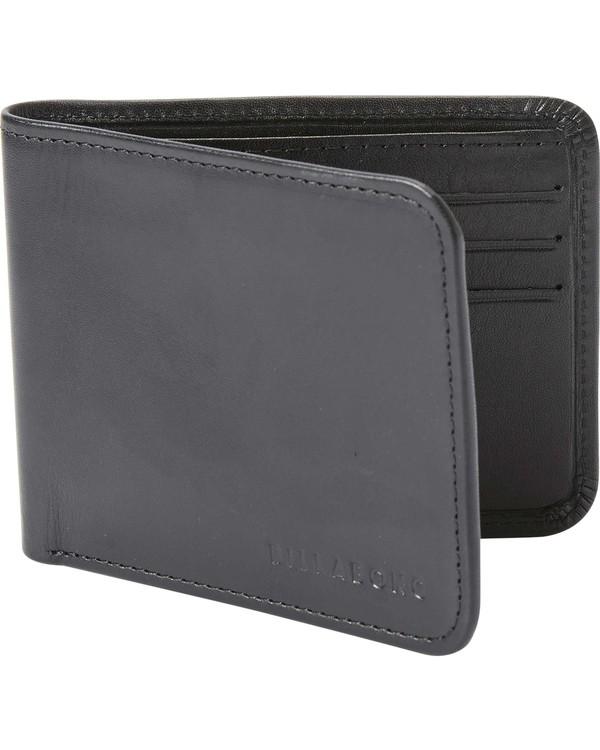 0 Slicker Slim Wallet Black MAWTJSLI Billabong