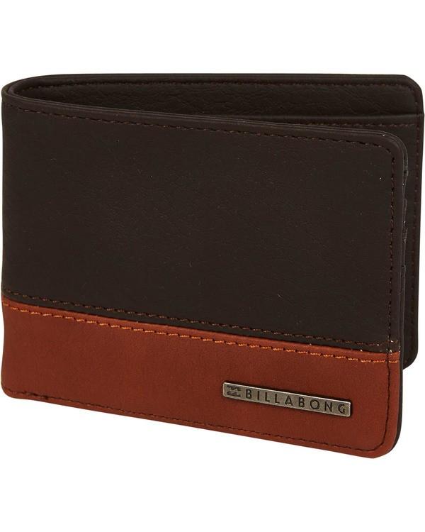 0 Dimension Wallet Brown MAWTNBDI Billabong