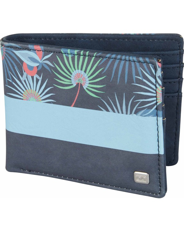 0 Tides Wallet Blue MAWTNBTI Billabong