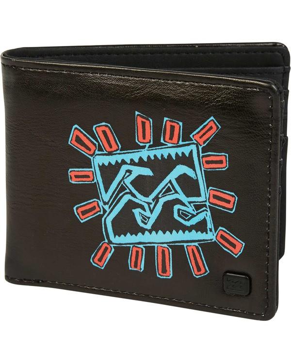 0 Tides Wallet Black MAWTTBTI Billabong