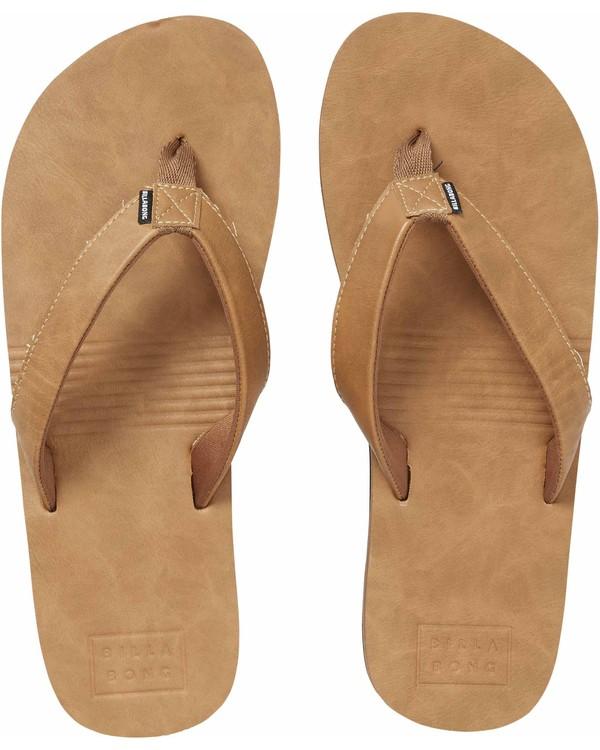 0 All Day Slim Sandals Beige MFOTNBAS Billabong