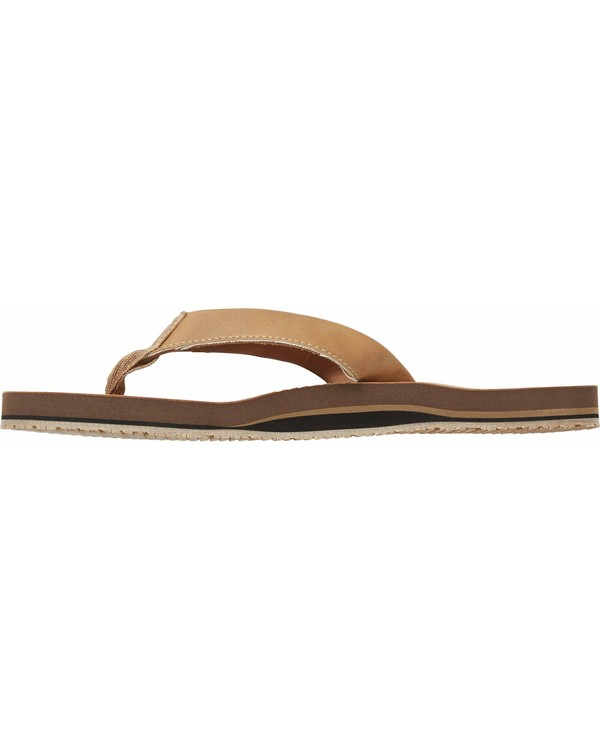 0 All Day Slim Sandals Beige MFOTNBAS Billabong