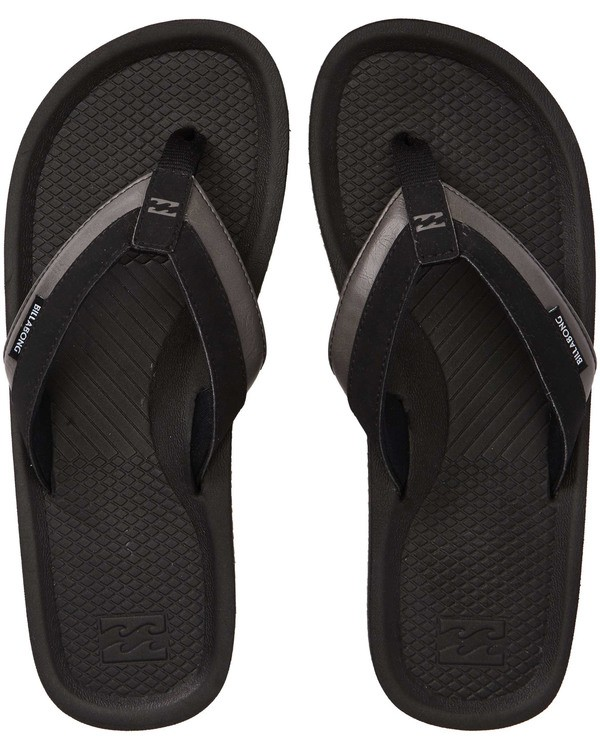 0 Off Shore Impact Sandals Black MFOTNBOI Billabong