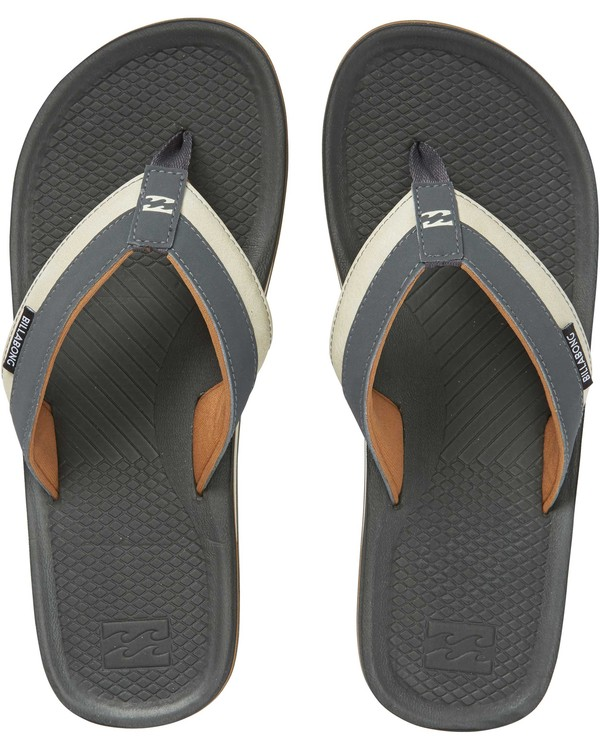 0 Off Shore Impact Sandals Grey MFOTNBOI Billabong