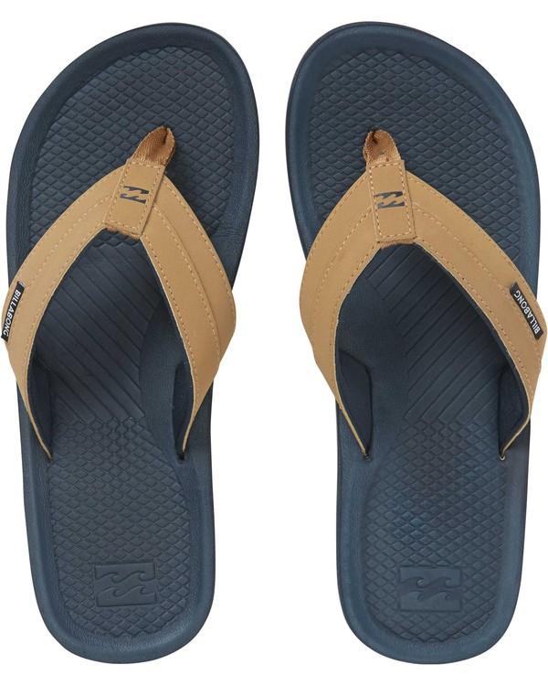 0 Off Shore Impact Sandals Blue MFOTNBOI Billabong