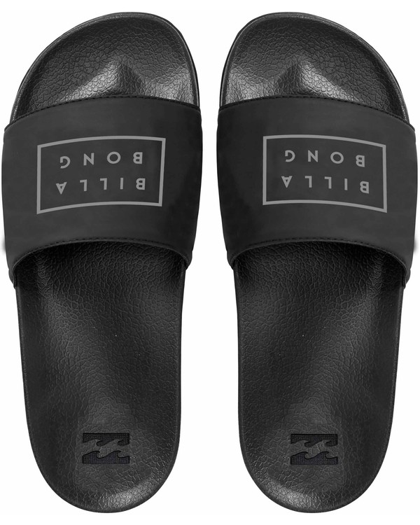 0 Poolslide Slide Sandals Black MFOTNBPO Billabong