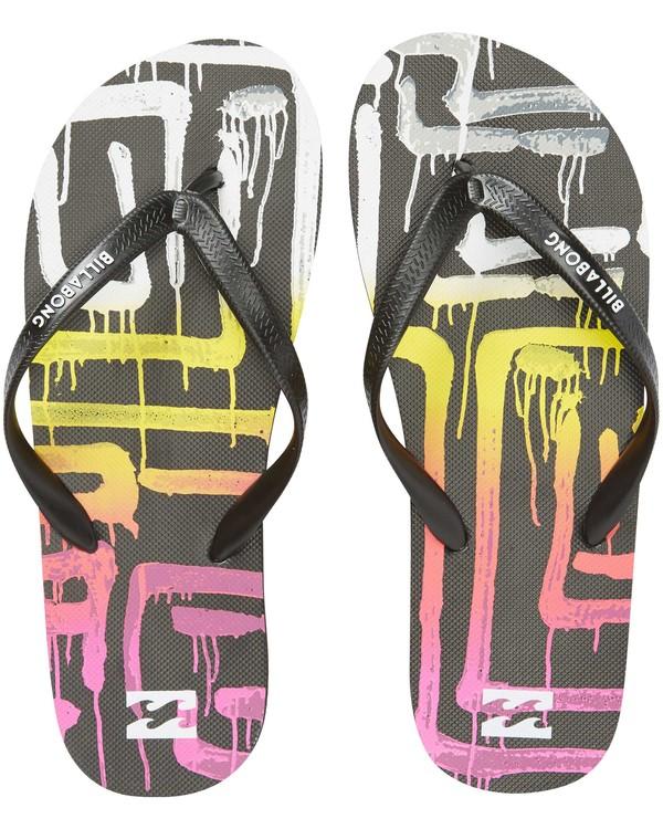 0 Tides Sandals Black MFOTNBTI Billabong