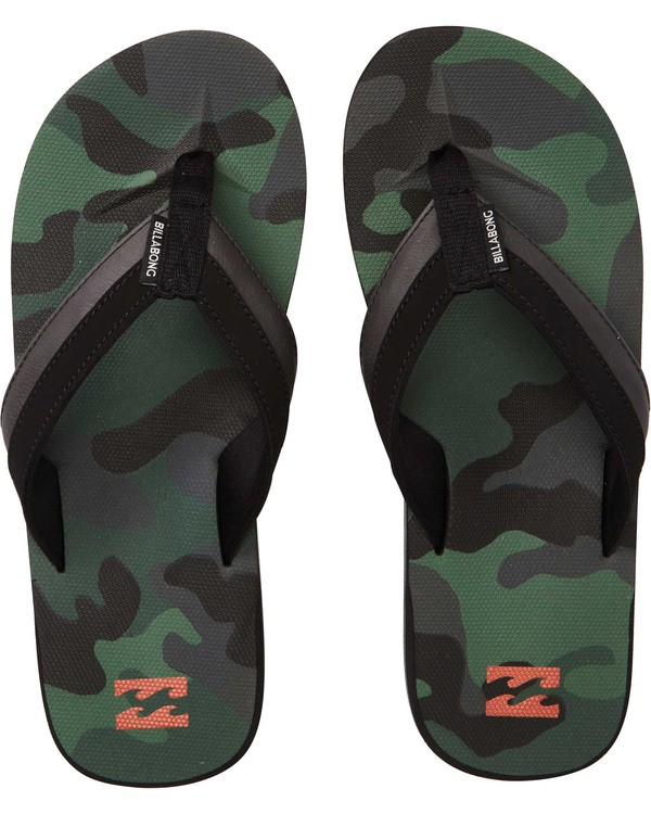 0 All Day Impact Sandals Camo MFOTTBAI Billabong