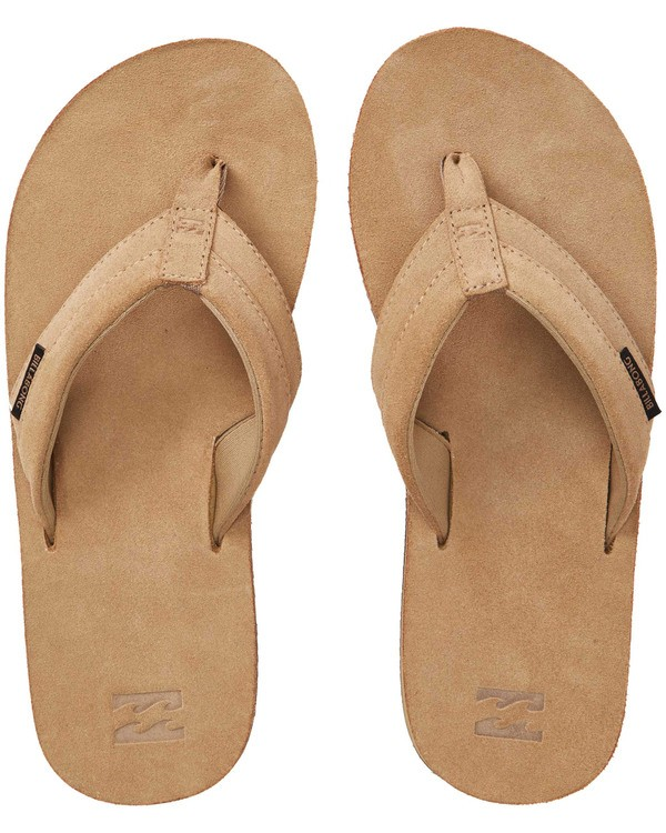 0 All Day Leather Sandals Beige MFOTTBAL Billabong