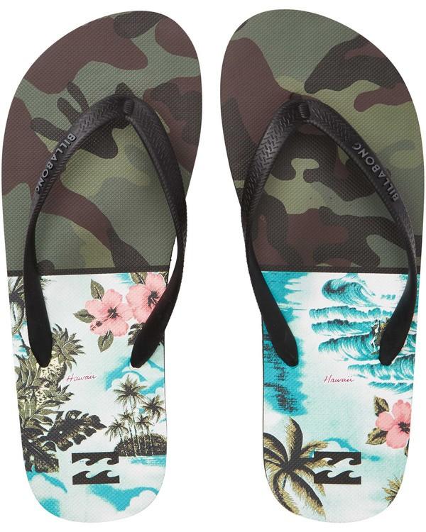 0 Tides Sandals Green MFOTTBTI Billabong