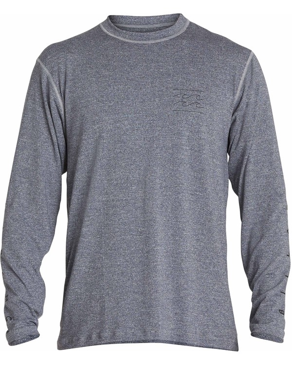 0 Unity Loose Fit Long Sleeve Rashguard Grey MR55NBUL Billabong