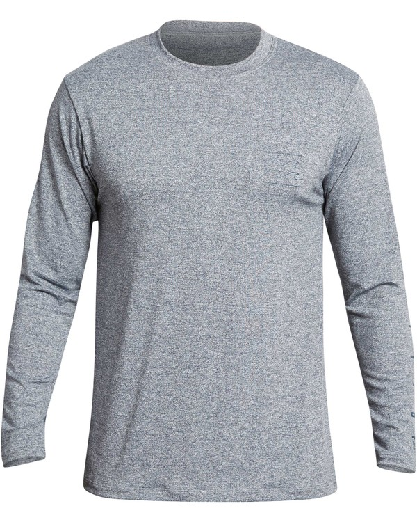 0 UNITY SLEEVES LF LS Grey MR55QBUL Billabong