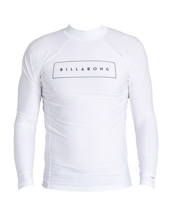 0 Cruiser Performance Fit Short Sleeve Rashguard White MR64SBUE Billabong