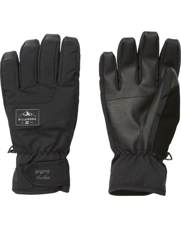 0 Men's Kera Snow Gloves Black MSGLQKER Billabong