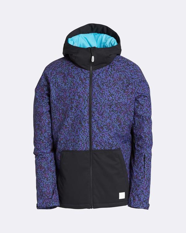 0 Men's All Day Solid Outerwear Jacket Purple MSNJQADI Billabong