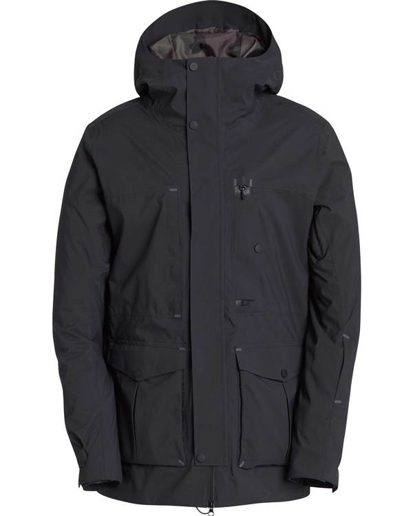 0 Men's Bodeman Snow Jacket Black MSNJQBOD Billabong