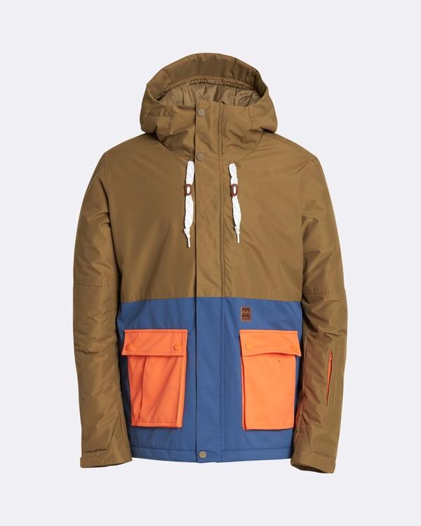 0 Men's Fifty 50 Outerwear Jacket Blue MSNJQFIF Billabong